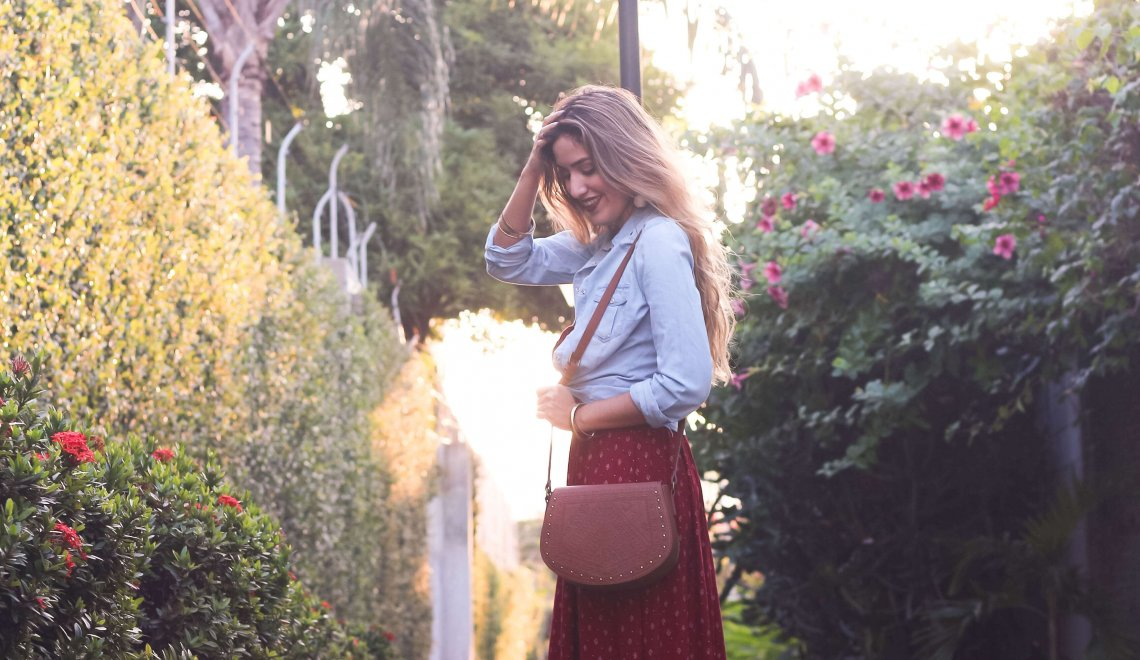 Amo los vestidos largos – Look De Prati